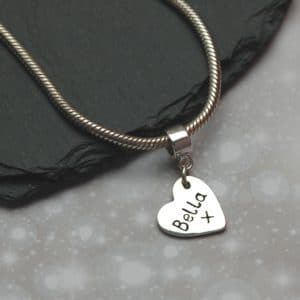 "Inscription on the back silver paw print ""Pandora style"" charm"