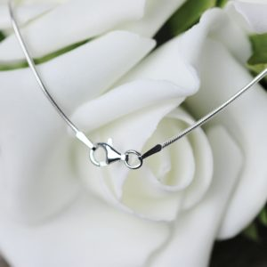 Sterling silver baby snake chain