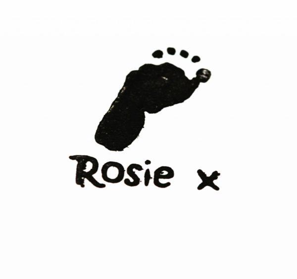 Single footprint stamp