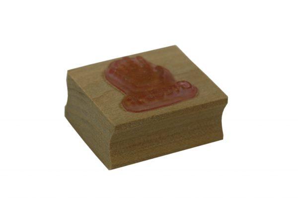 Single handprint stamp