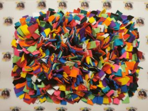 Snuffle mat for dogs and cats