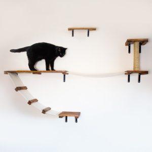 CosyKai wall mounted cat activity furniture