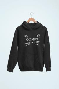 Cat Mum Hoodie Cosmic Cat Tees Etsy