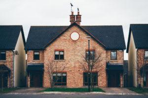 house with front door